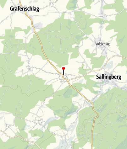 Mapa / Jugendlagerplatz Lugendorf Gemeinde Sallingberg