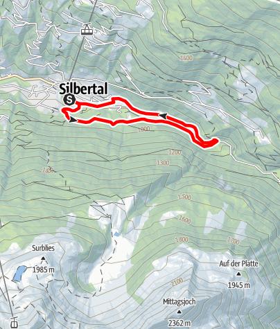 Karte / Teufelsbach-Wasserfall-Schleife