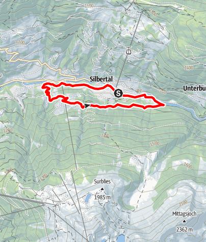Karte / Ganlätsch-Runde