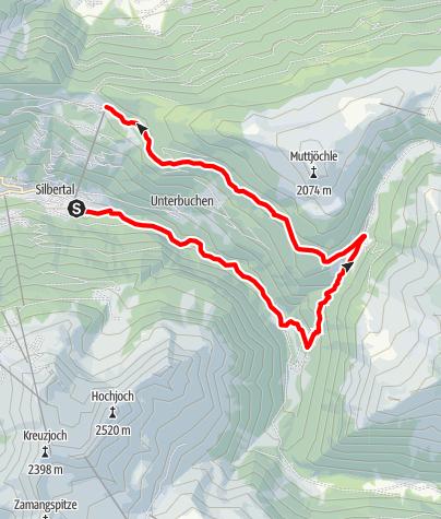 Karte / Wasserstuben-Berglauf