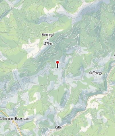 """Karte / Jausenstation Eichtinger """"Großmarker"""""""