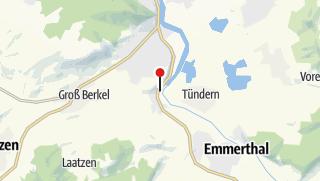 Karte / Kanuanlegestelle Ohrbergpark
