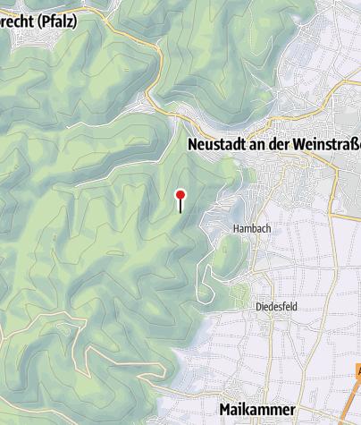 Karte / Schutzhütte Speyerheld