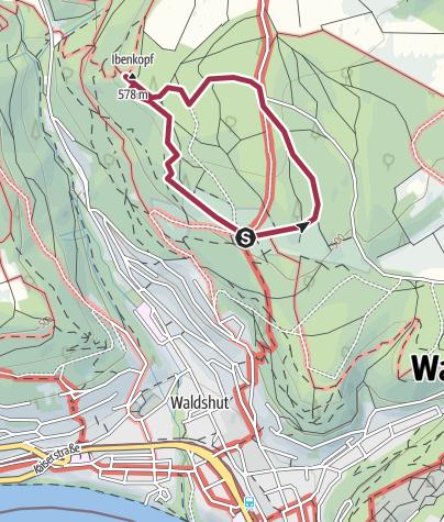 Karte / Waldshut-Tiengen: Zum Eibenkopf