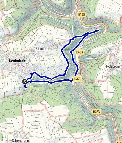 Karte / Über Ritter und Bergleute