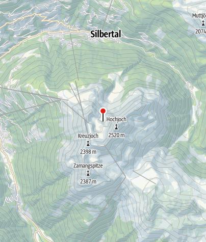 Karte / Schwarzsee auf dem Hochjoch