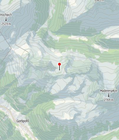 Karte / Oberer Alpguessees