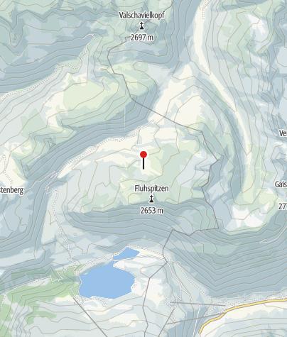 Karte / Brüllender See