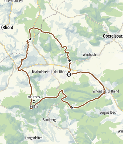 Karte / Kreuzberg Supertrail