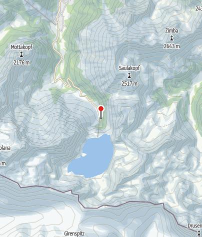 Karte / Klettergarten Brandnertal (Talstation Lünerseebahn)