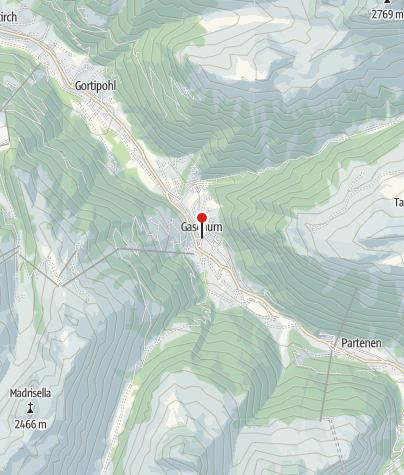 Karte / Pfarrkirche Hl. Michael Gaschurn