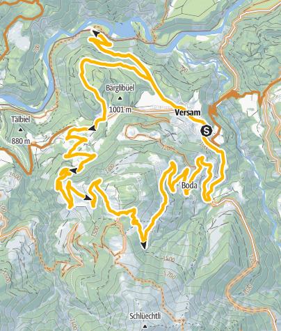 Karte / Calörtsch