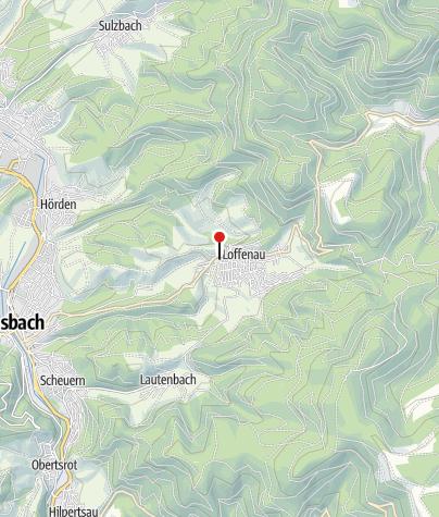 Karte / Spielplatz Loffenau Festplatz Dorfwiesen