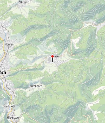 Karte / Spielplatz Loffenau Pfadackerweg