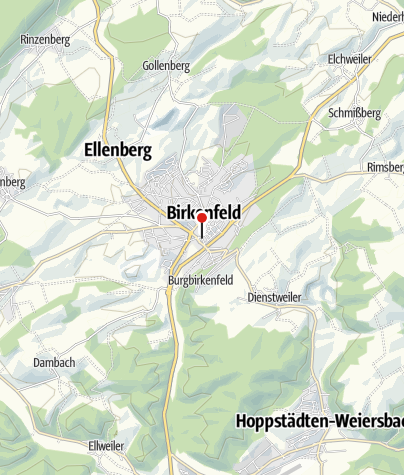 Karte / Charly´s- Place, 55765 Birkenfeld