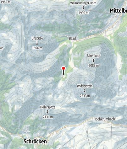 Map / Bärgunthut (Gourmet hut)