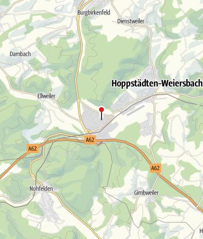 Karte / Umwelt-Campus Birkenfeld, 55768 Hoppstädten-Weiersbach/Neubrücke