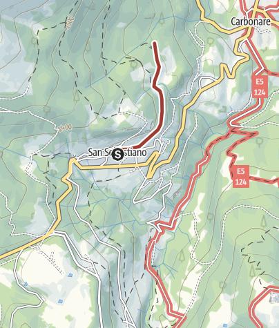 Cartina / Sentiero fotografico della fauna