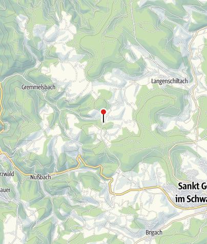 Karte / Gasthaus Zur Staude