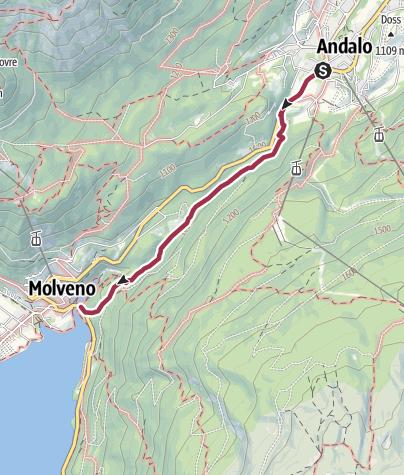 Cartina / Andalo-Molveno