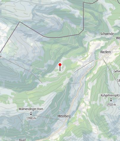 Karte / Bruder Klaus-Kapelle