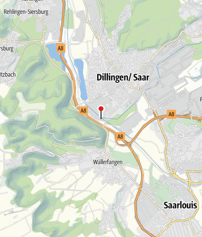Karte / Almhütte Dillingen