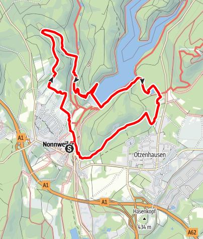 Karte / Nationalparktraumschleife Hubertusrunde