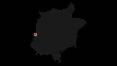 Karte / Wanderung rund um den Rosengarten