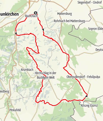 "Térkép / Oldtimertour- ""Sanfte Ebenen und 1000 Hügel"""