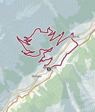 Map / Bike tour Galmihornhütte
