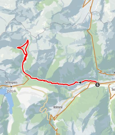 Karte / 2C Salzachalm