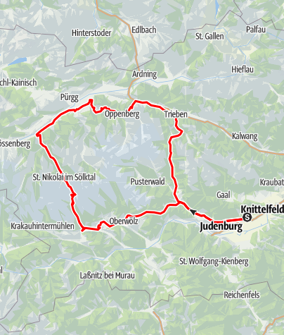 Karte / Tauern Tour