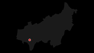 Map / Molveno (Pradél) - Rifugio Croz dell'Altissimo - Rifugio Selvata - Rifugio Pedrotti - Rifugio Selvata - Valle delle Seghe - Molveno