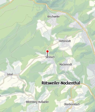 Karte / Jagdhaus Falkenstein, 55767 Siesbach