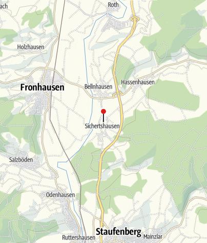Karte / Gartenwirtschaft Findt