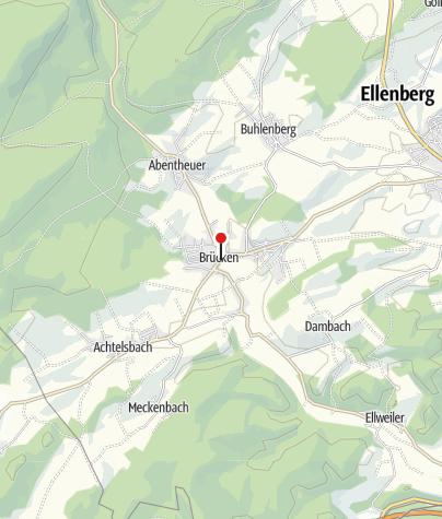 Karte / Pension Hunsrücker Hof - Brücken