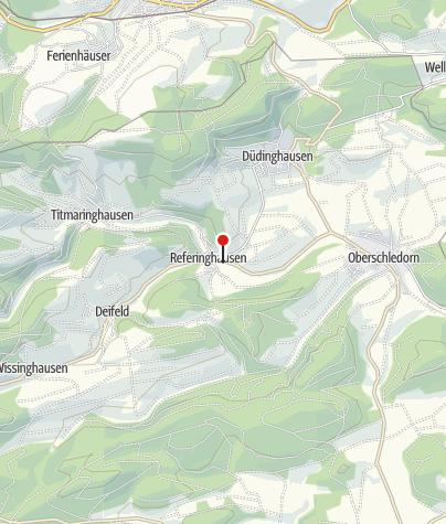 Kaart / Milchweg Referinghausen, Tafel 7