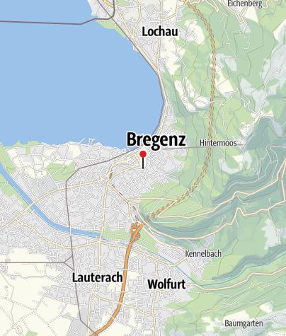 Karte / Tiefspeicher des Vorarlberger Landesarchivs