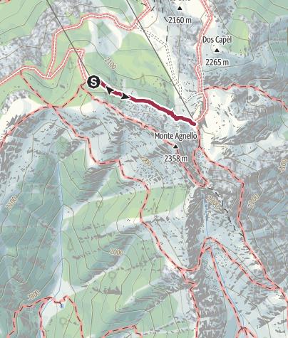 Karte / Latemar.Meteo
