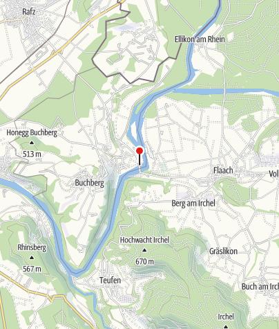 Karte / P Rüdlingen Brücke