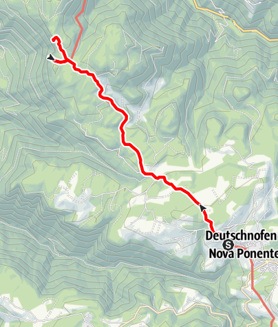Map / Hike to the Rotwand-Rotstein