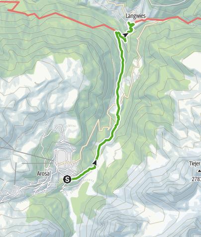 Map / Viaduct Langwies