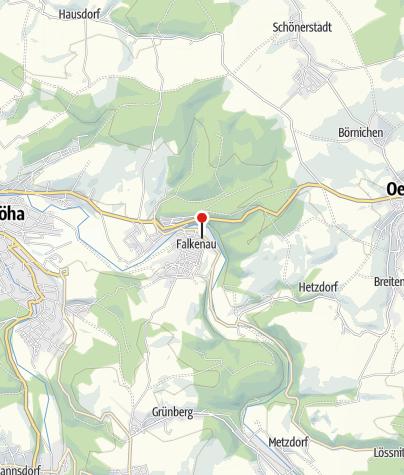 Karte / Haltepunkt Falkenau