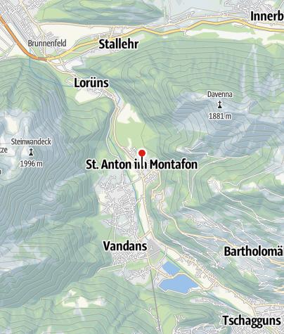 Karte / Ferienwohnung Aublick
