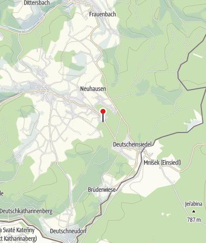 Karte / Erzgebirgisches Freilichtmuseum Seiffen