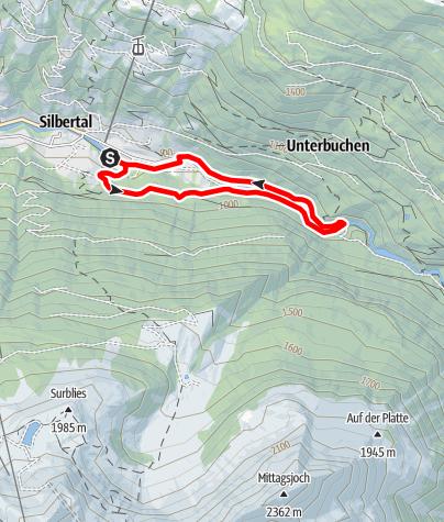 Map / Teufelsbach-Wasserfall-Schleife