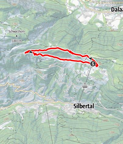Map / Fulateia-Schleife