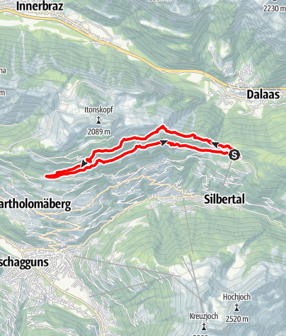 Map / Kristberger Seen-Runde