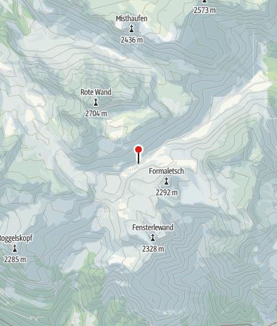 Karte / Alpe Formarin