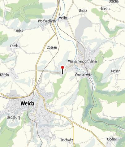 Karte / Kloster Mildenfurth